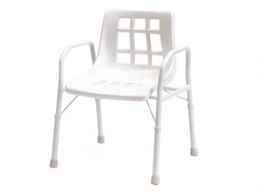 1320 Shower Chair Extra Care with Arms 510mm SWL 200Kg