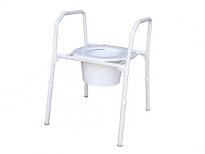 1752 Over Toilet Frame Aluminium SWL 150kg