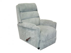 Lever Recliner Chair Ashley Tall With Chaise Blue Grade