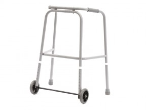 6540 Walking Frame Duralite with Wheels Gliders Adult SWL 200kg