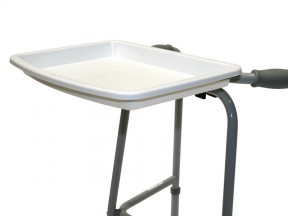 6690 Walking Frame Accessories Tray Bracket Curved Front